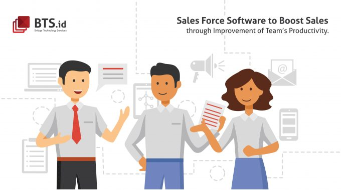 Sales Force Software Indonesia Application To Boost Sales Through Improvement Of Team's Productivity